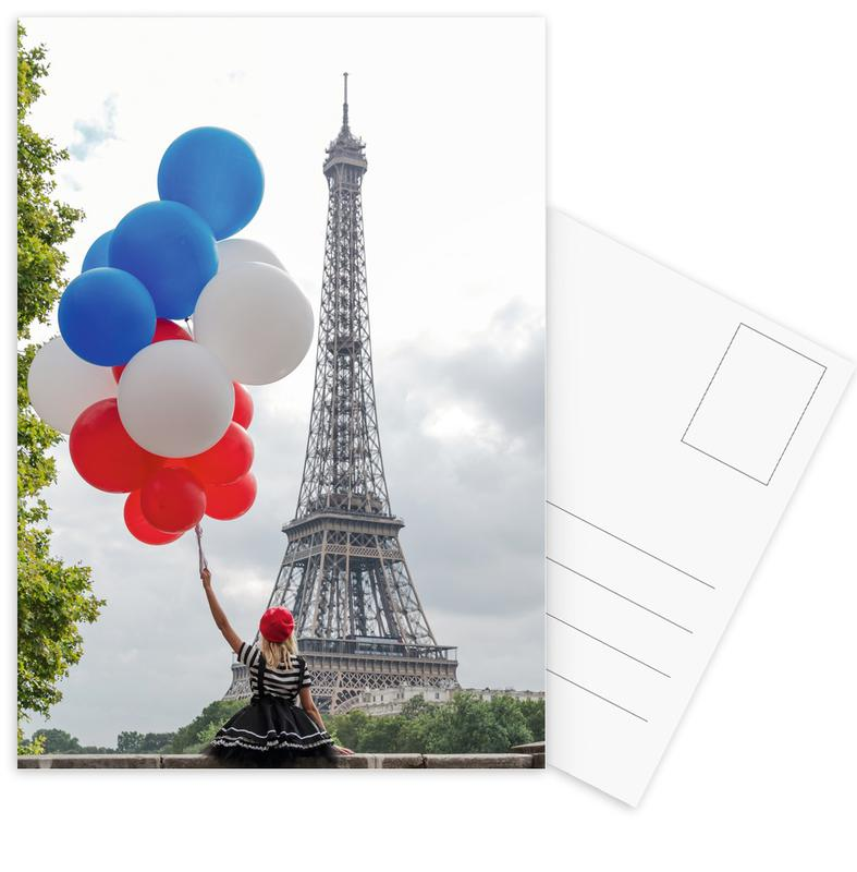 Vive La France Postcard Set