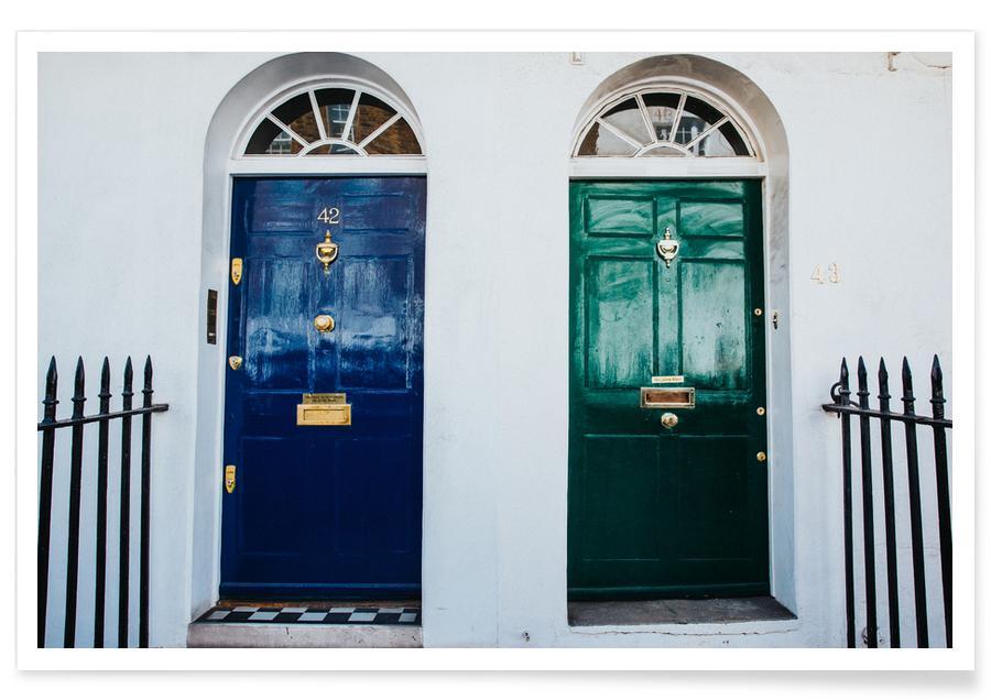 London Doors -Poster