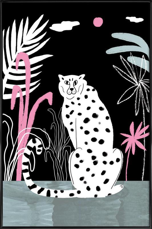 Tropicana - Cheetah and Jungle Framed Poster