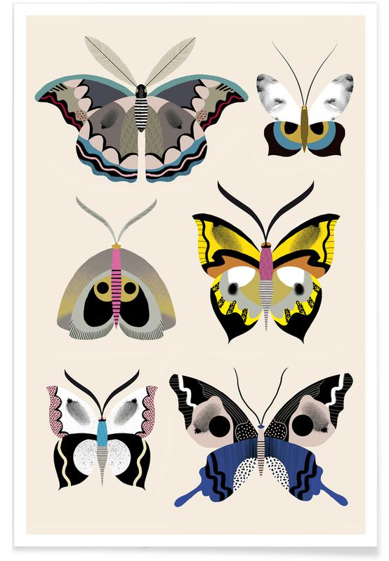 Butterflies - Collection Poster