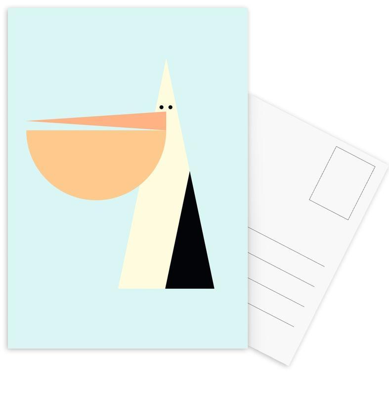 Stevie the Pelican Postcard Set