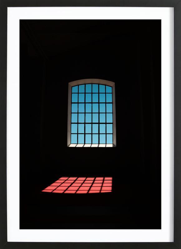 In Jail Framed Print
