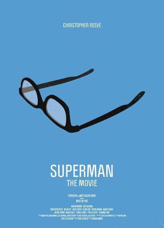 Superman toile