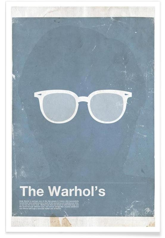 Andy Warhol Glasses Poster