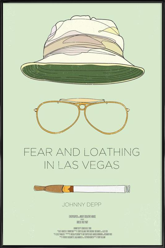 Fear and Loathing in Las Vegas Framed Poster