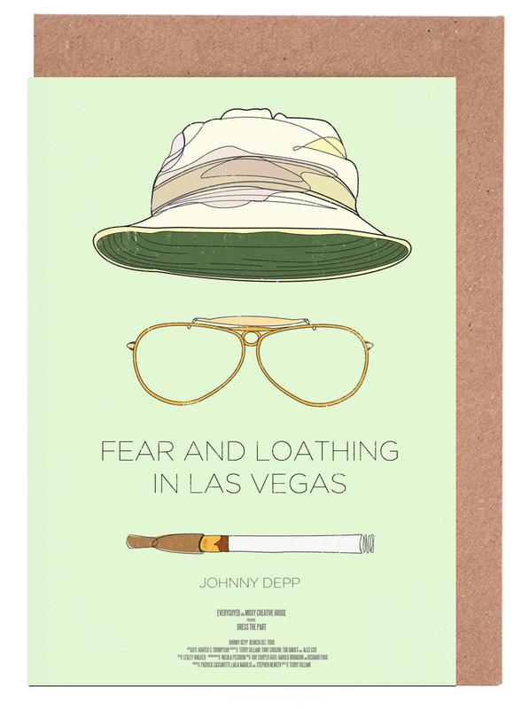 Fear and Loathing in Las Vegas -Grußkarten-Set