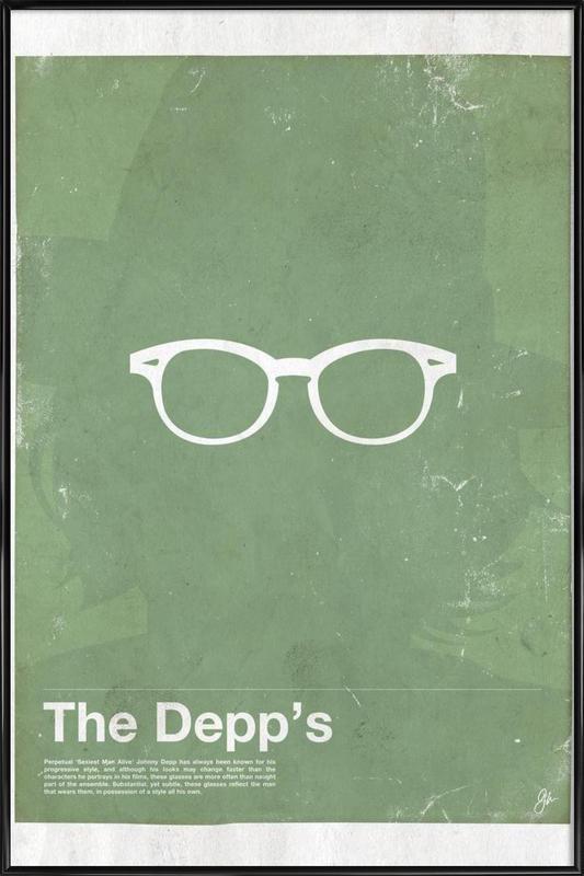 Framework Depp Framed Poster
