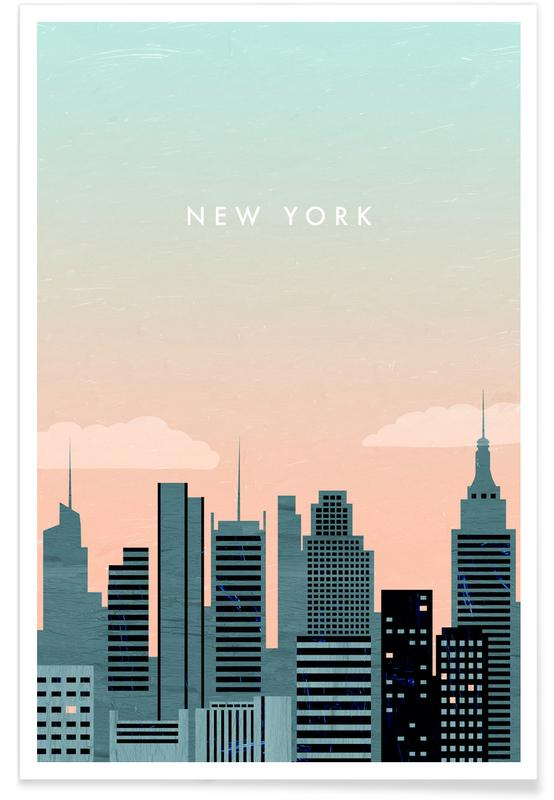 New York - retro poster