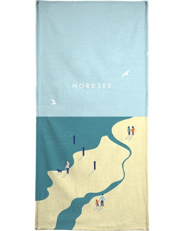 Nordsee -Handtuch