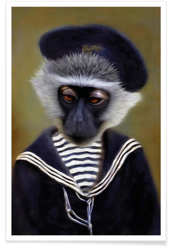 The Sad Monkey Poster