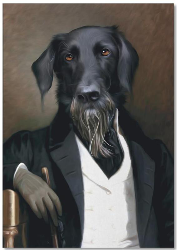 Einstein Beard Notepad