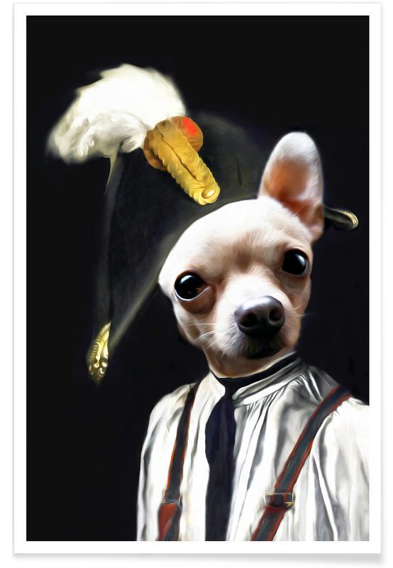 Petit Pablo Poster