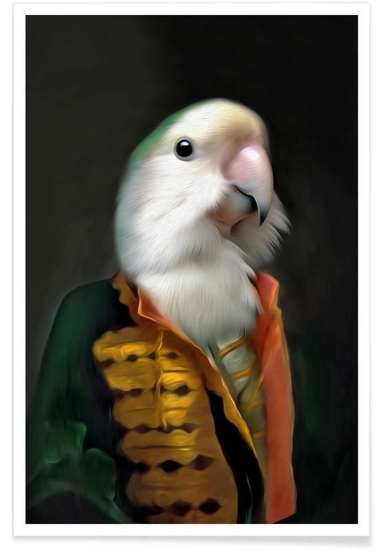 Papagaai Daan Poster