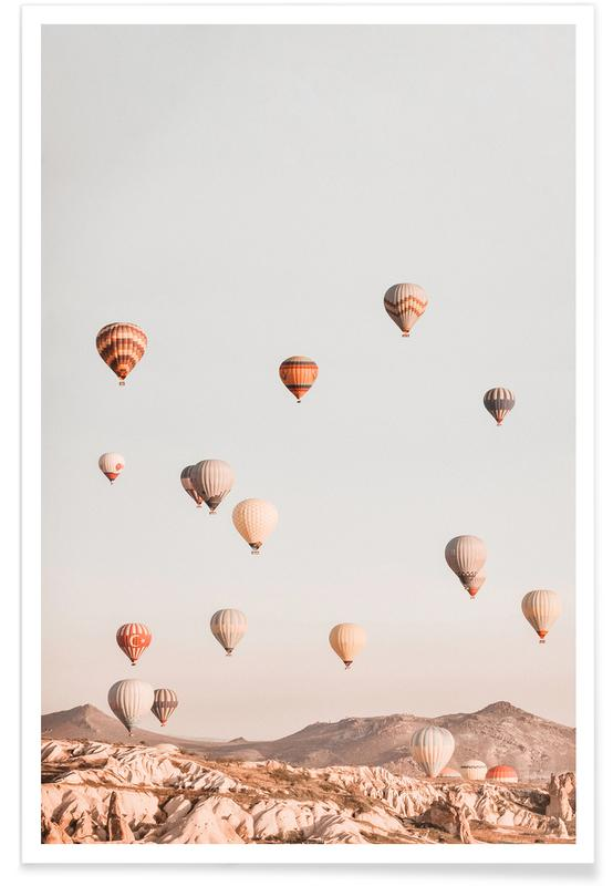 Hot Air Balloons Plakat