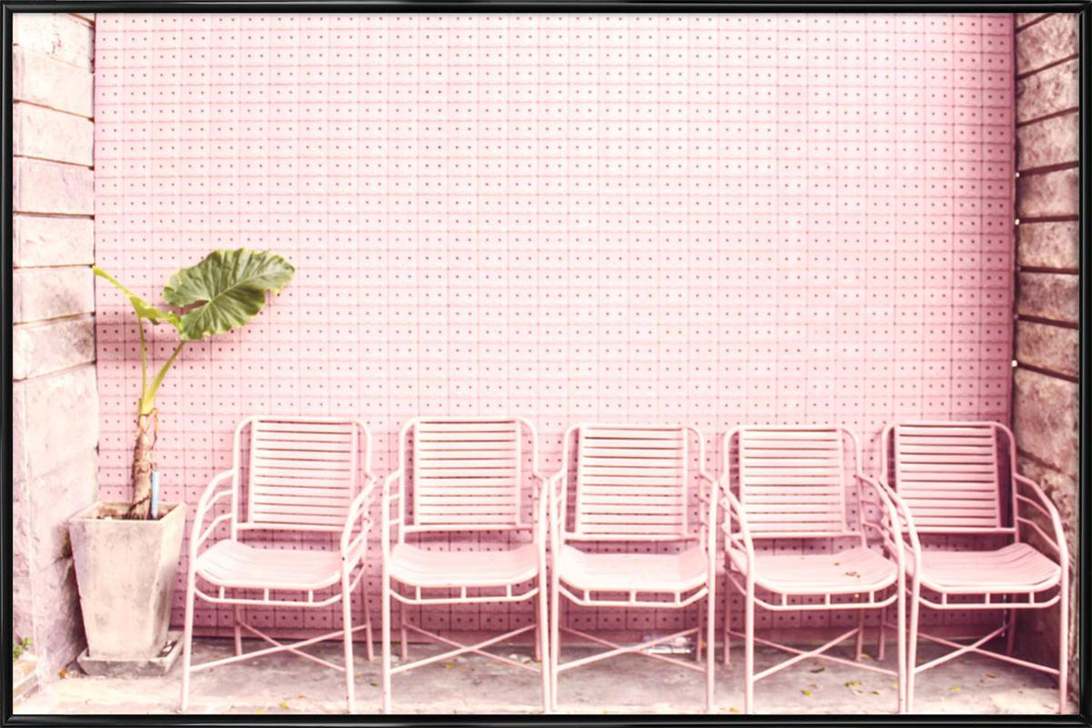 Wait and Sit by @OeyYimYim affiche encadrée