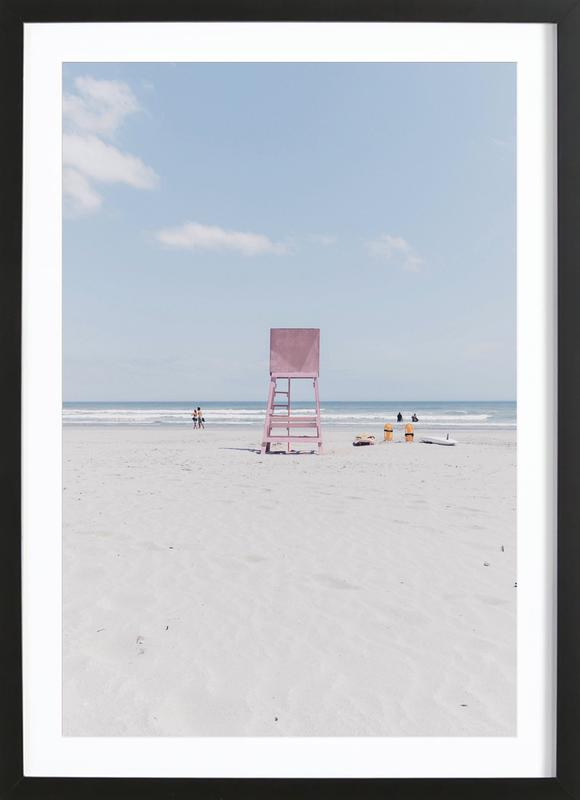Lookout by @drewwrightt affiche sous cadre en bois
