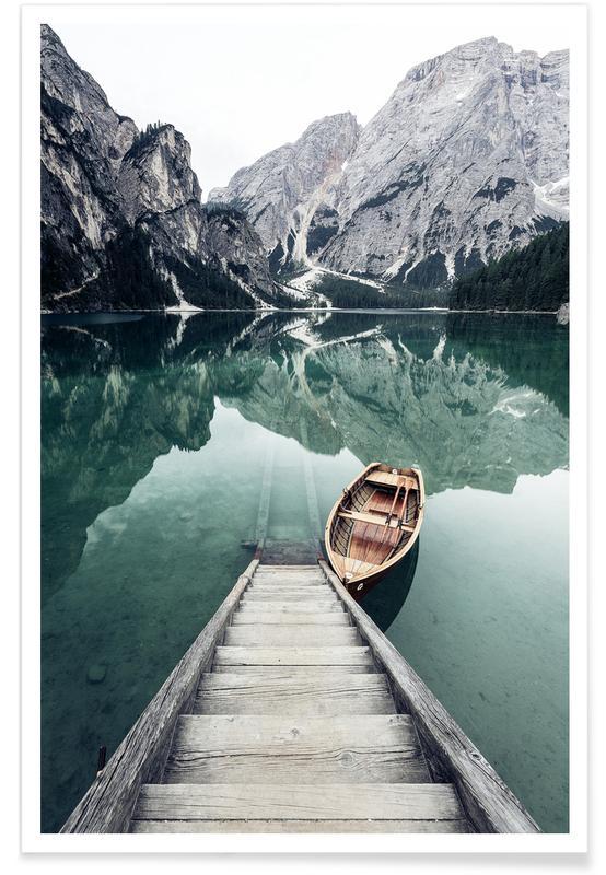 Calm Waters by @rwam Plakat