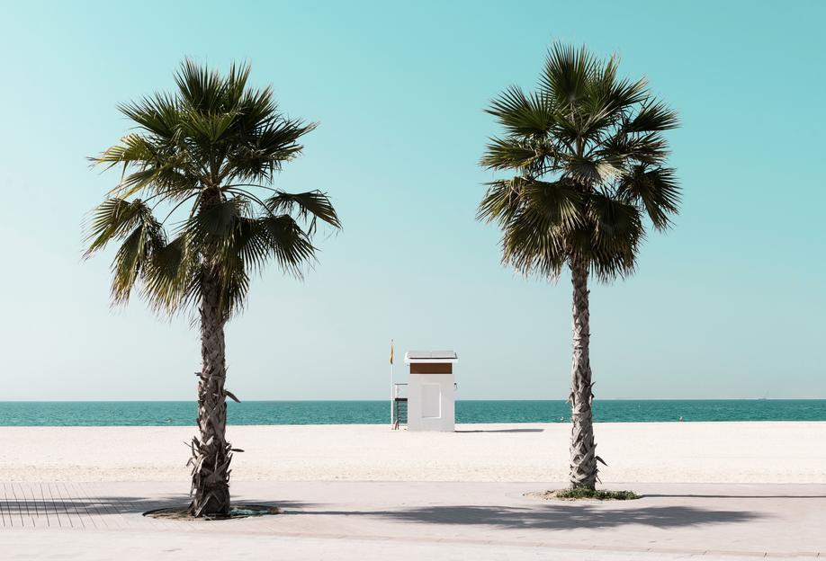 Beach Blue by @tmstefanko -Acrylglasbild