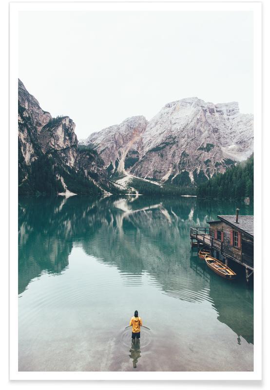 Hidden Lake by Ueli Frischknecht poster