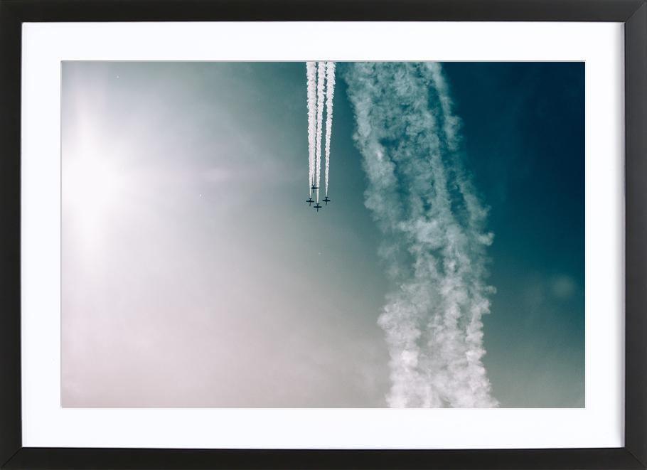 Squadron of the Skies by Jonas Peschel Framed Print