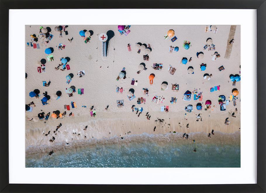 Life's a Beach by Michael Schauer Framed Print