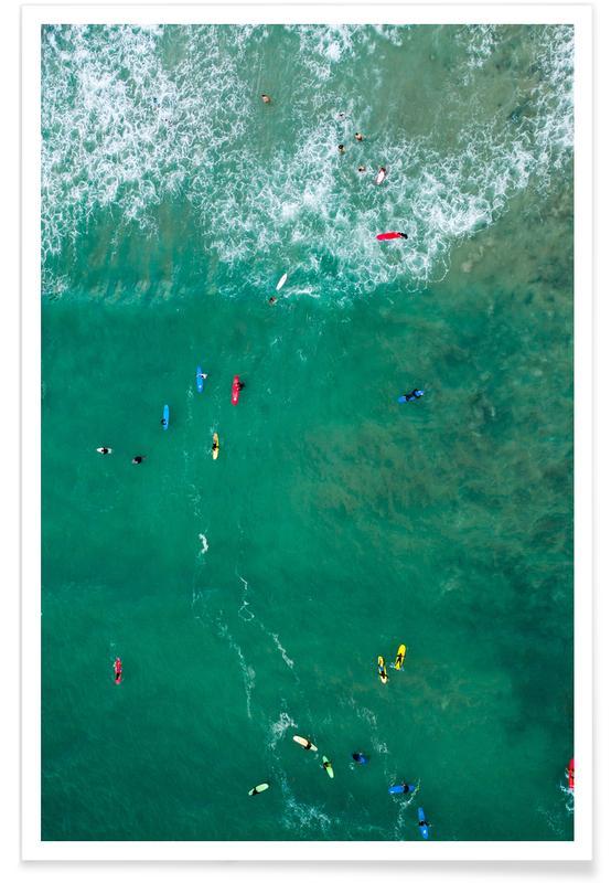 Everybody's Gone Surfin' by Lentam Plakat