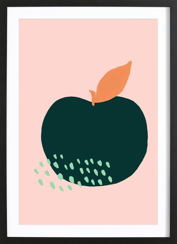 Joyful Fruits - Apple Framed Print