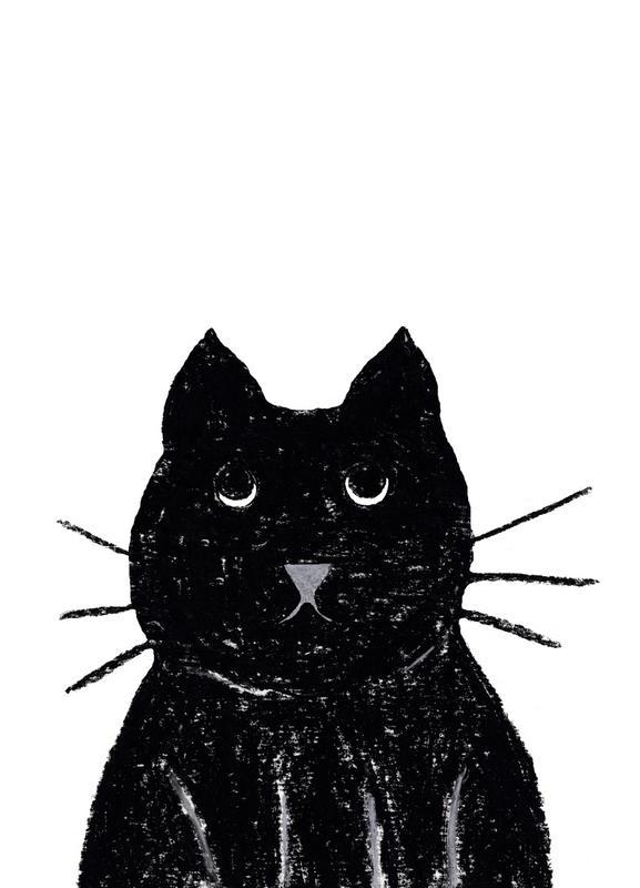 Innocent Cat Canvas Print