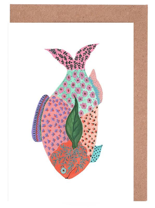 Fancy Fish Greeting Card Set
