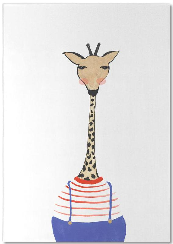 Giraffe with Clothes Notepad