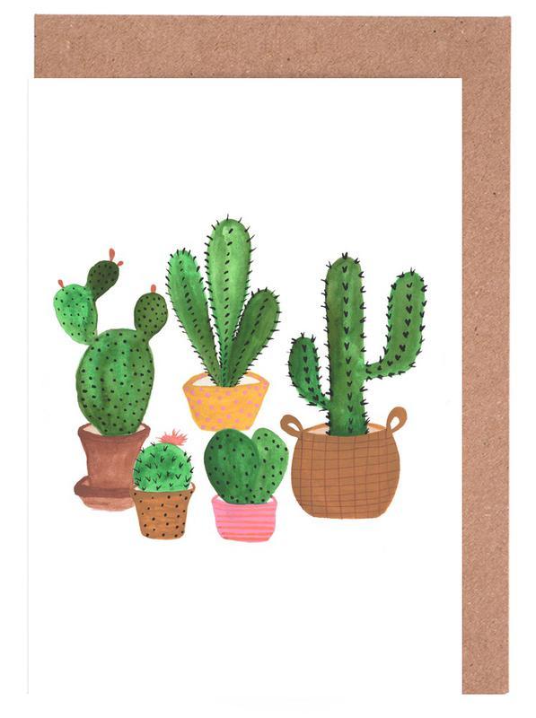 Cactus Family cartes de vœux