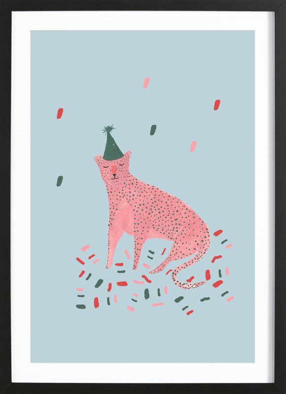 Party Animal Vol.1 affiche sous cadre en bois