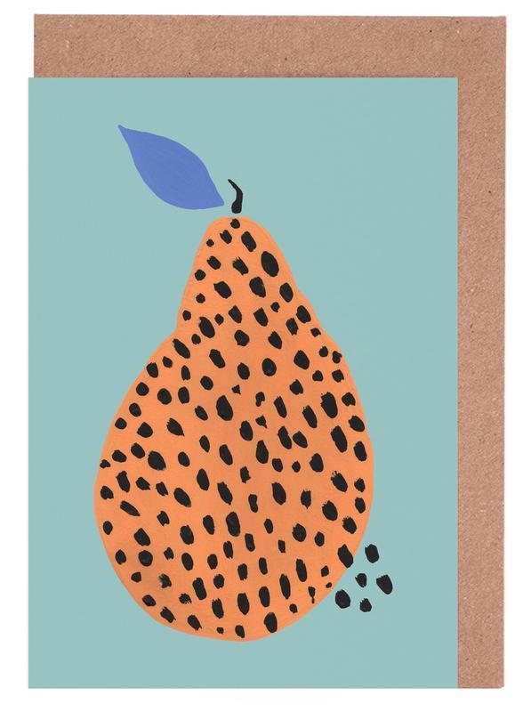 Joyful Fruits - Pear cartes de vœux