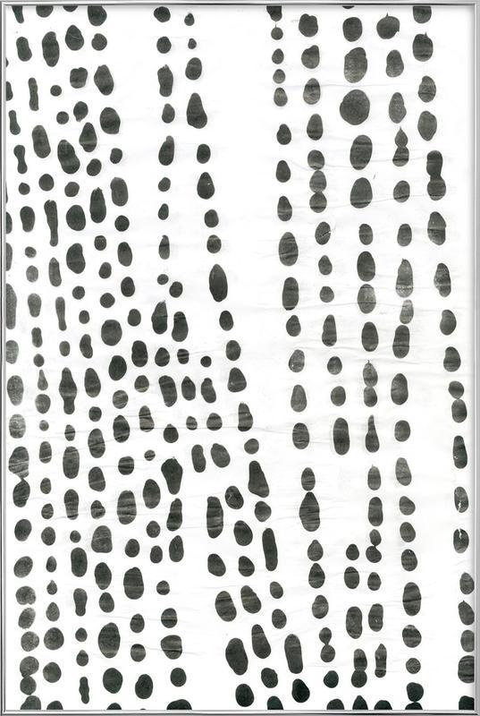Organical Texture Poster in Aluminium Frame