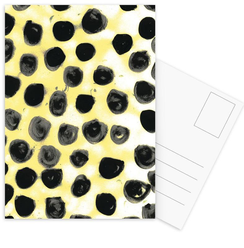 Cross Yellow cartes postales