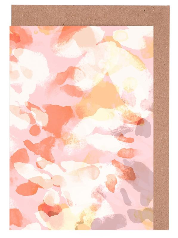 Floral Pastell Greeting Card Set