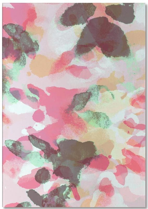 Floral Aquaellic Notepad