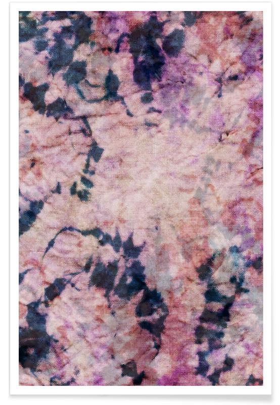 Textile Study Rosé -Poster