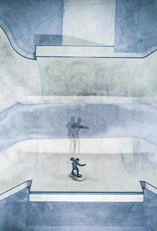 Skate Aluminium Print