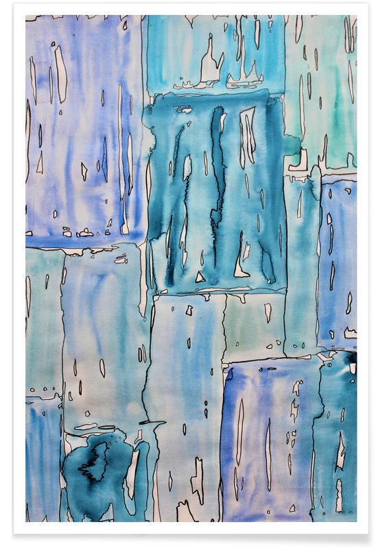 COLOUR-CODE BLUE Poster
