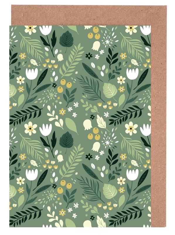 Frühlingswald -Grußkarten-Set