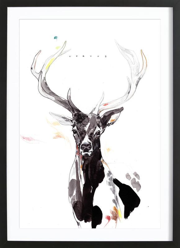 Hirsch 3 Framed Print