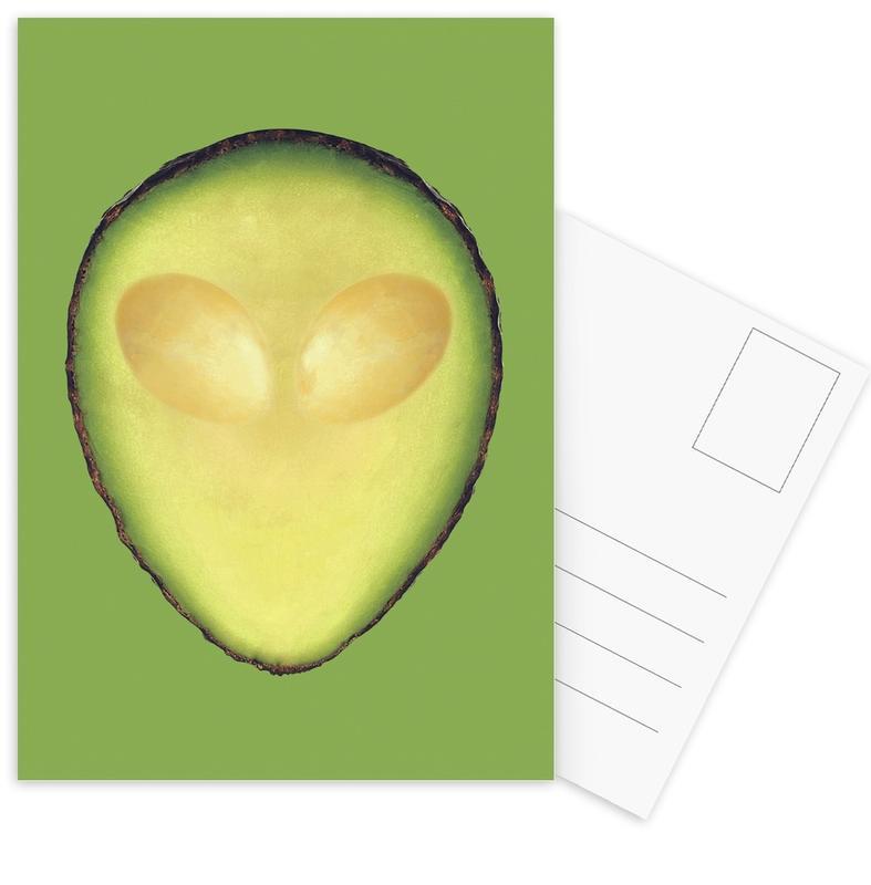 Avocalien -Postkartenset