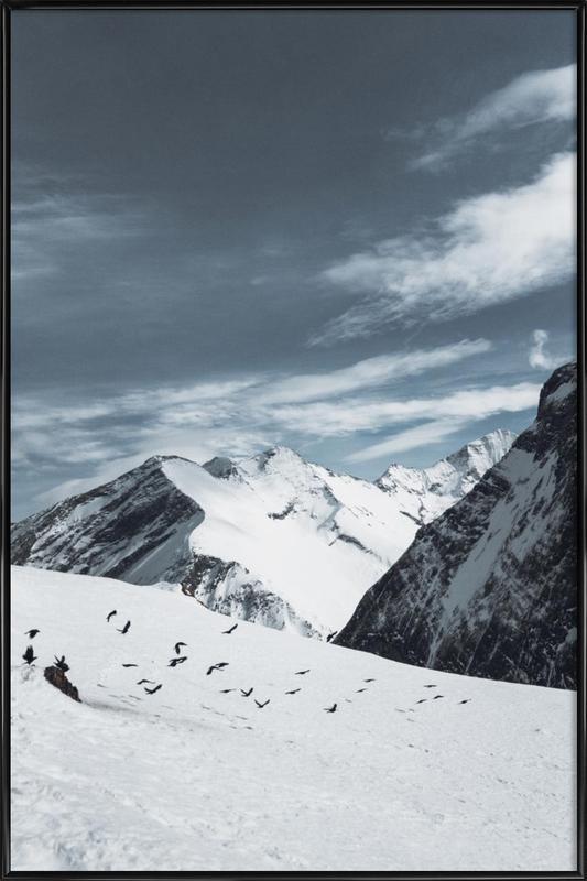 Mountains XVIII Framed Poster