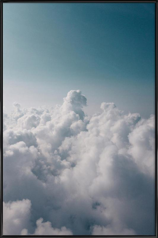 Clouds I Framed Poster