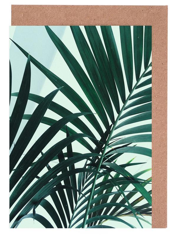 Palm Leaves Greeting Card Set