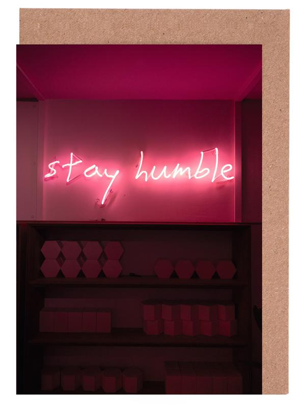 Stay Humble - Quotes Greeting Card Set