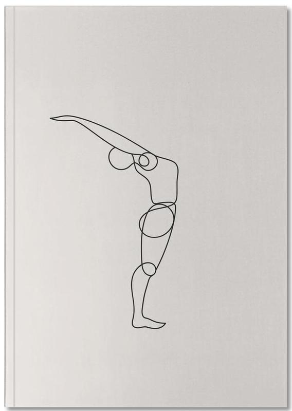 Standing Backbend Notebook