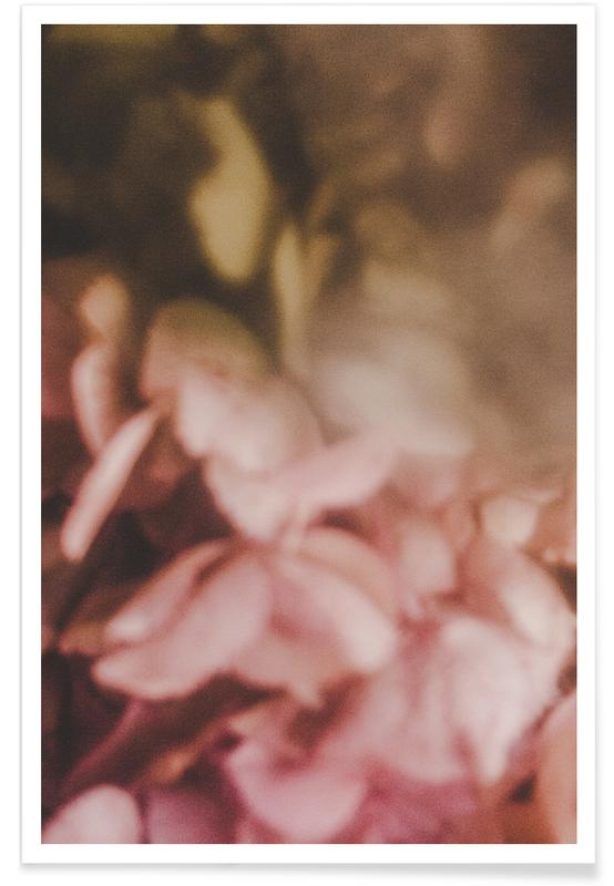 Faded Floral Powder Poster