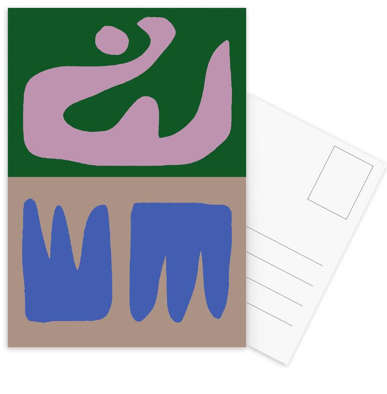 Thinking Maybes -Postkartenset